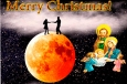 рождество открытка английская отправить онлайн бесплатно