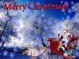 открытки с надписью merry christmas