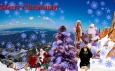 Merry Christmas Английская рождественская открытка